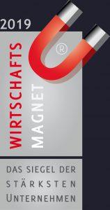 Wirtschaftsmagnet - Das Siegel der stärksten Unternehmen