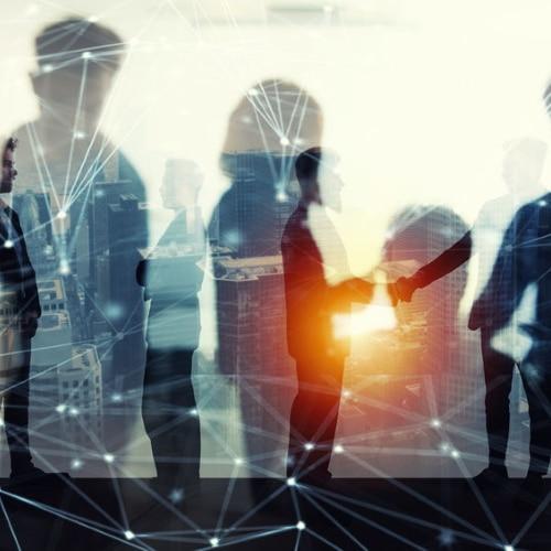 Hochkarätige Business-Partner