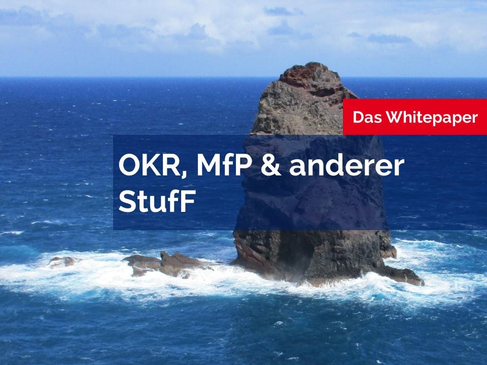 OKR, MfP & anderer Stuff